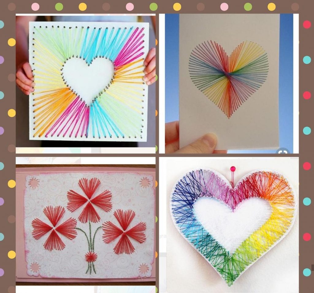 mothers day heart craft