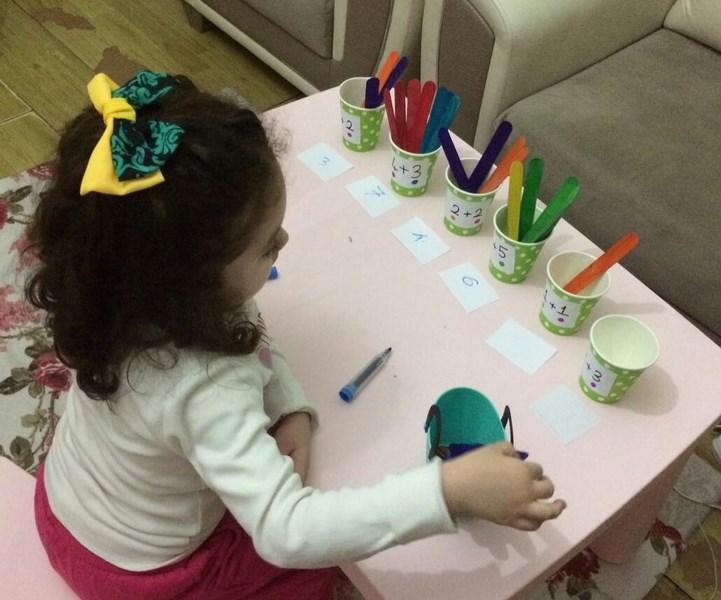 kids math activity