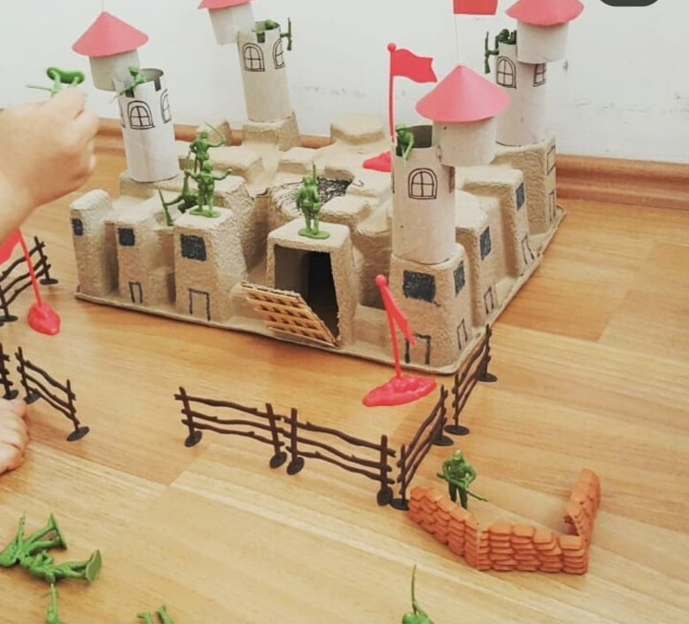 castle craft for kids