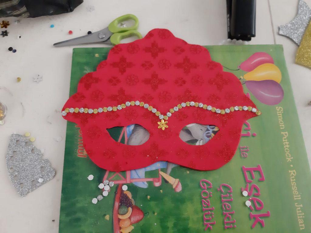 princess face mask activity