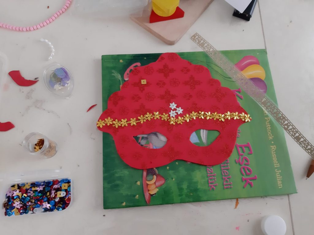 princess face mask activity craft