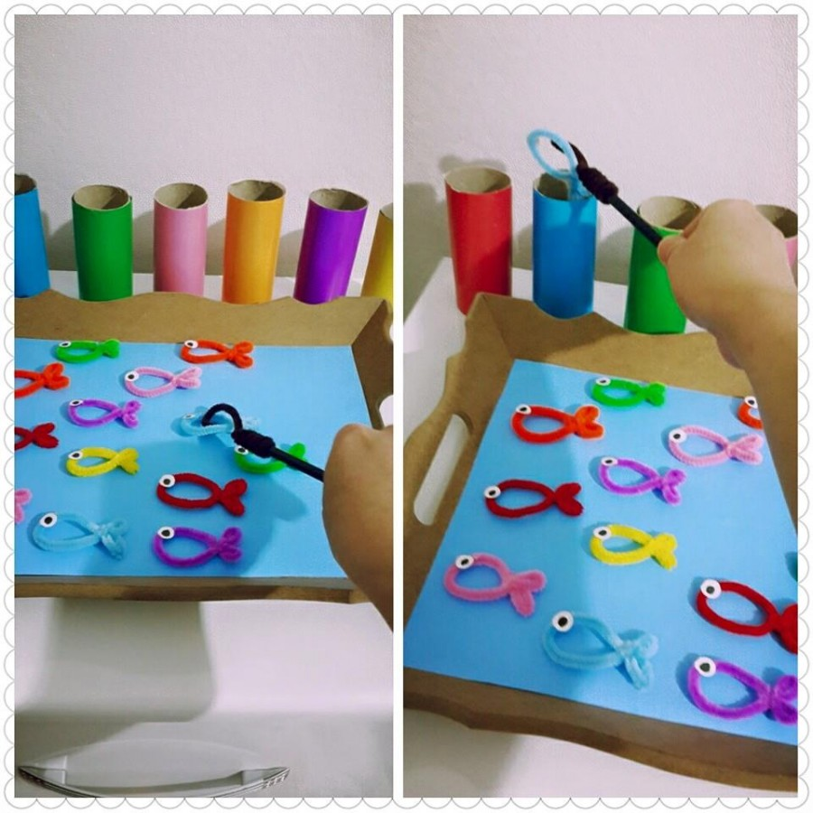 toilet papert roll color activity