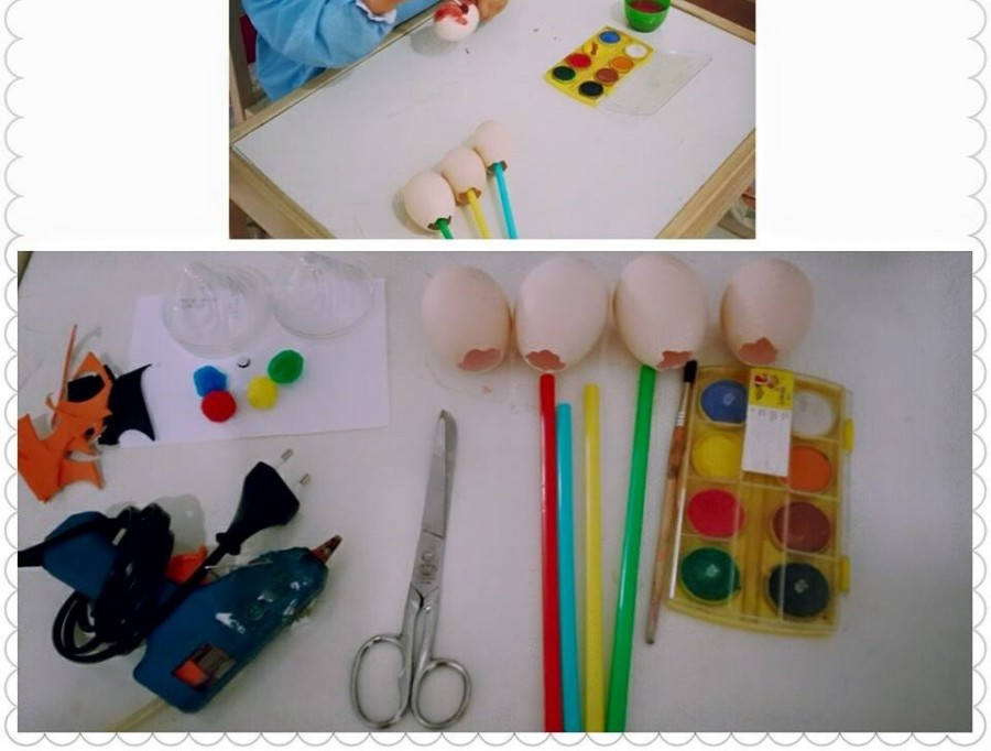 egg puppets for kids