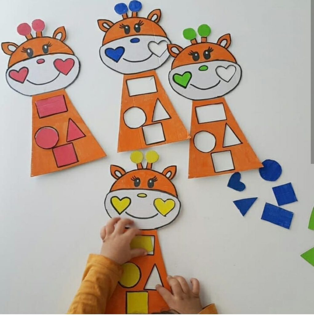 shape matching activity preschool