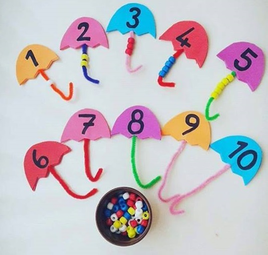 teaching number activities